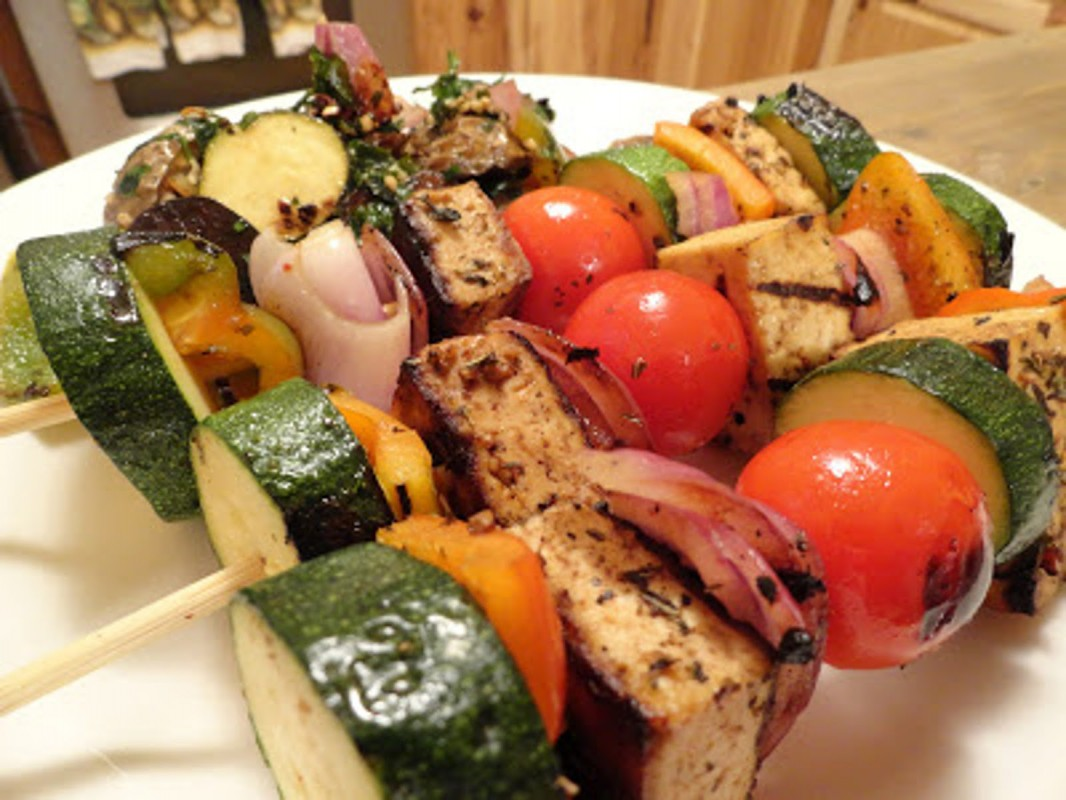 tofu smoked veggies