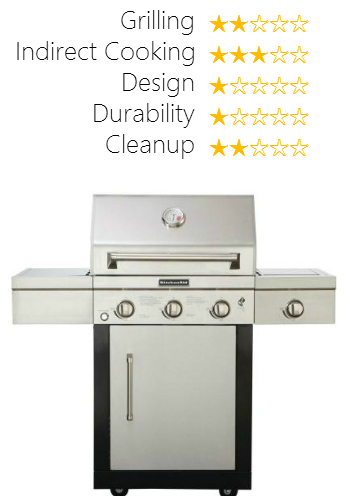 Kitchenaid Gas Grill 3 Burner