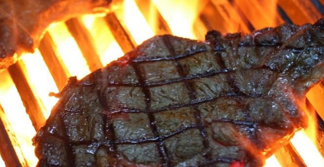 cross hash mark grill