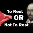resting meat