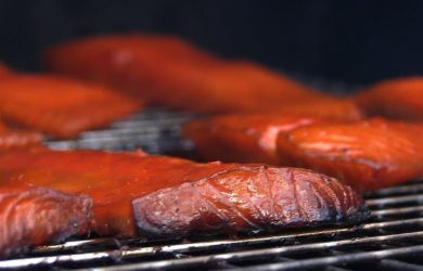 smoking salmon easy
