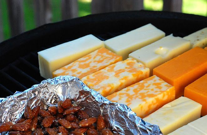 cheap and easy ways to smoke cheese