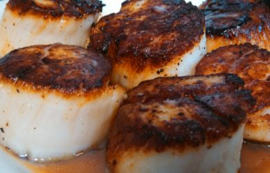 best way to grill a scallop