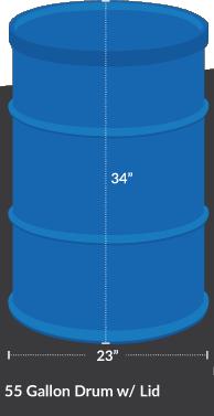 drum for uds barrel
