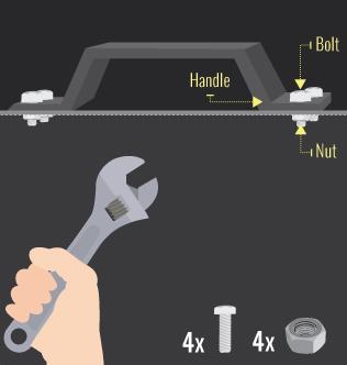 adding handle to lid