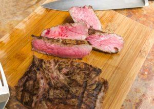 rare steak for eating