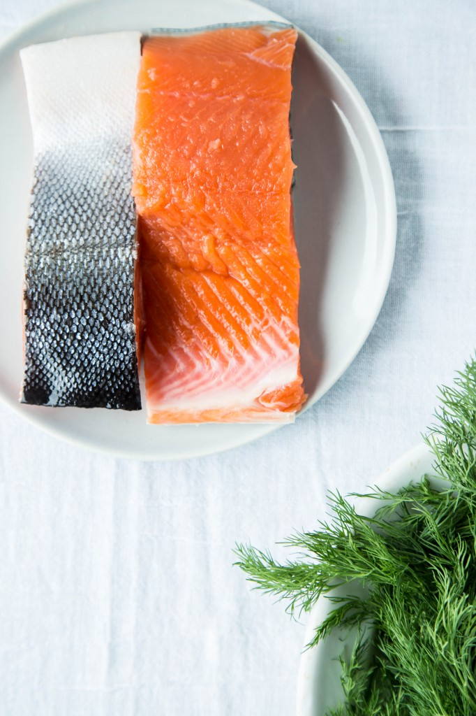 salmon for chowder