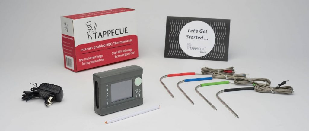 tappecue with four color probes