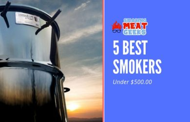 5 Best Smokers below 500