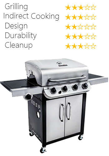CHAr-broil 475 with sideburner
