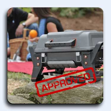 inferred portable grill