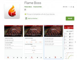 flame boss mobile app
