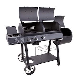 best smoker gas grill combo