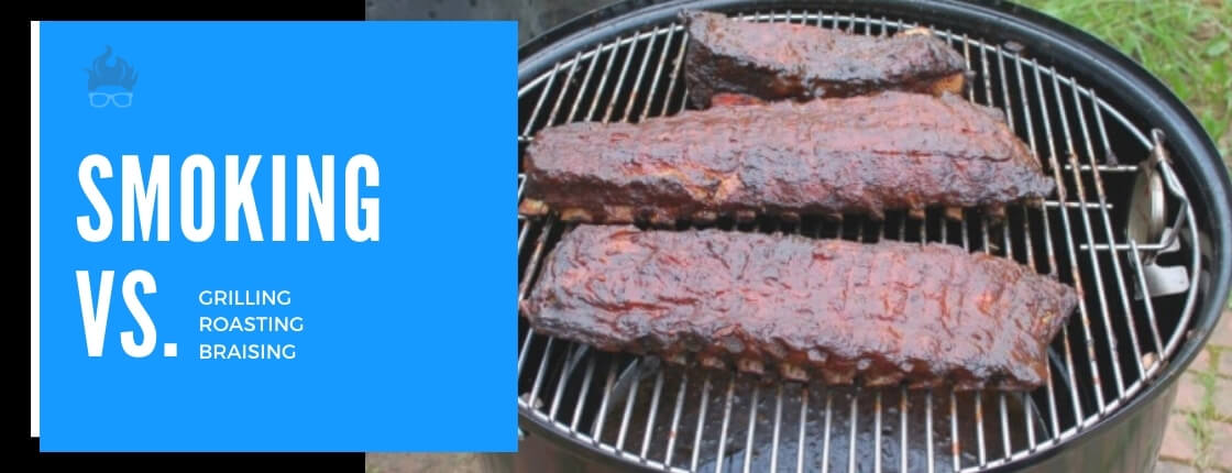 smoking vs grilling, braising section image