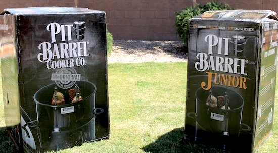 comparing pit barrel cooker and pbj in box