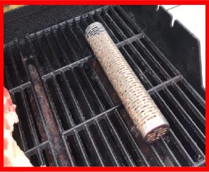 SMOKING TUBE ON A GAS GRILL