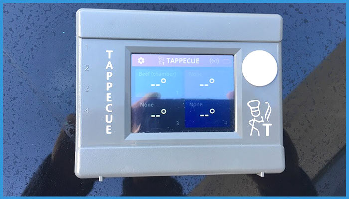 front of tappecue wifi device
