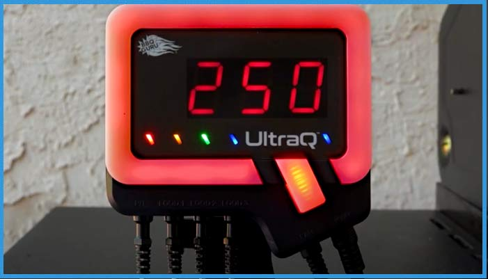 display for the ultra q