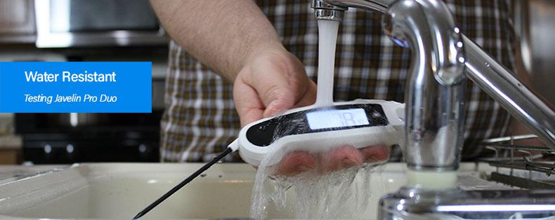 instant read waterproof testing