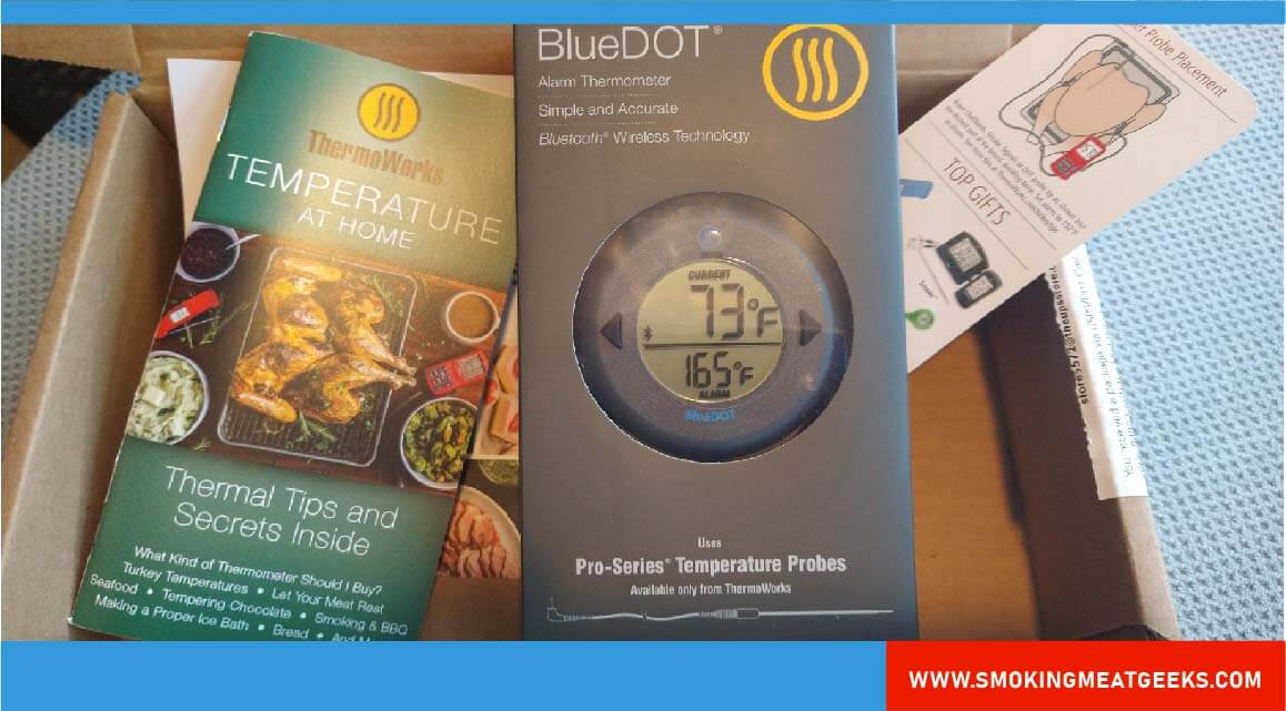 Bluedot by THERMOWORKS THERMOMETER unboxing