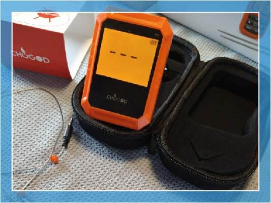 UVISTARE (CHUGOD) BBQ BLUETOOTH COOKING THERMOMETER review