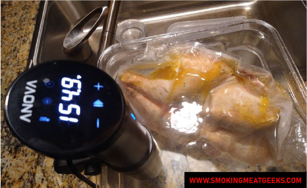 SPATCHCOCK HYBRID chicken sous vide