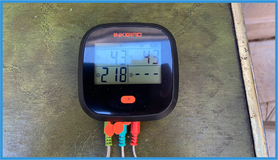 INKBIRD IBBQ-4T WIFI thermometer BUILD QUALITY