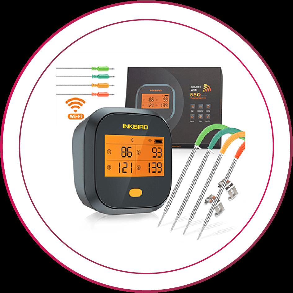 INKBIRD IBBQ-4T WIFI thermometer
