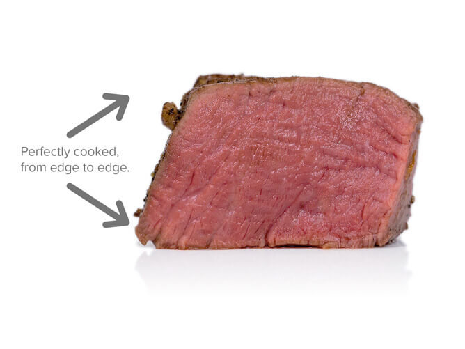 example of sous vide steak