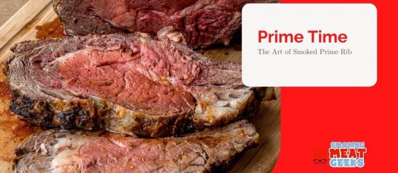 how to smoke prime rib