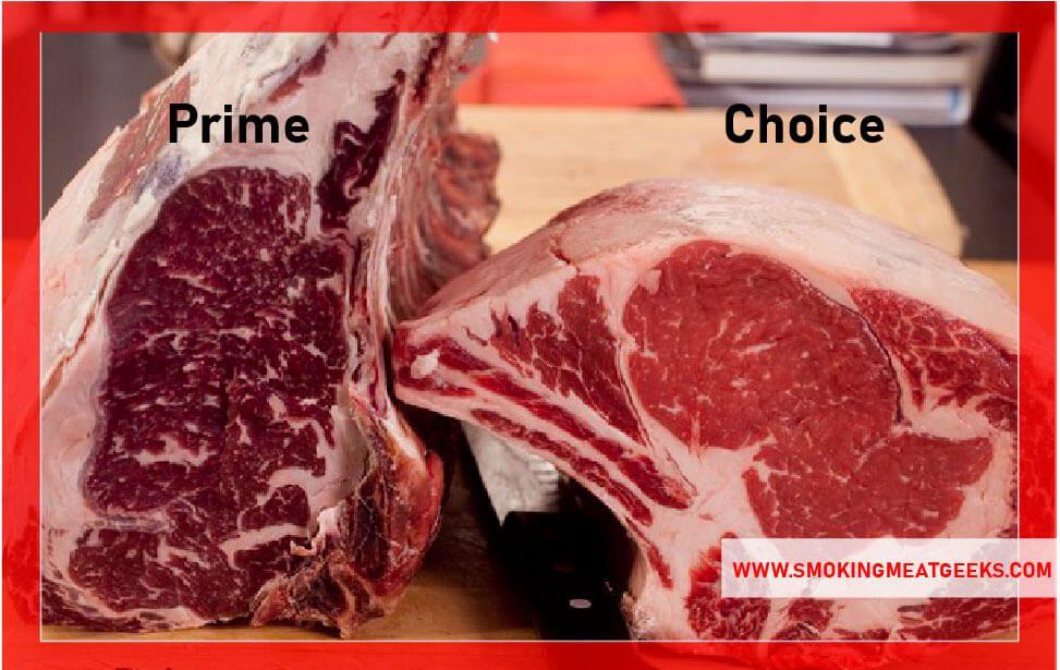 prime rib choice