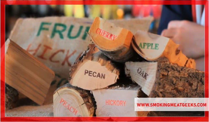 different flavored wood chunks for smoker