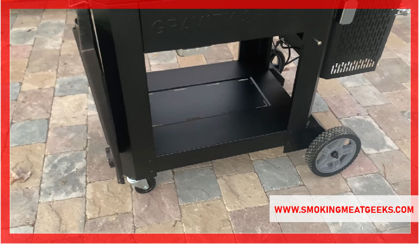 flagstone floor for electric smoker