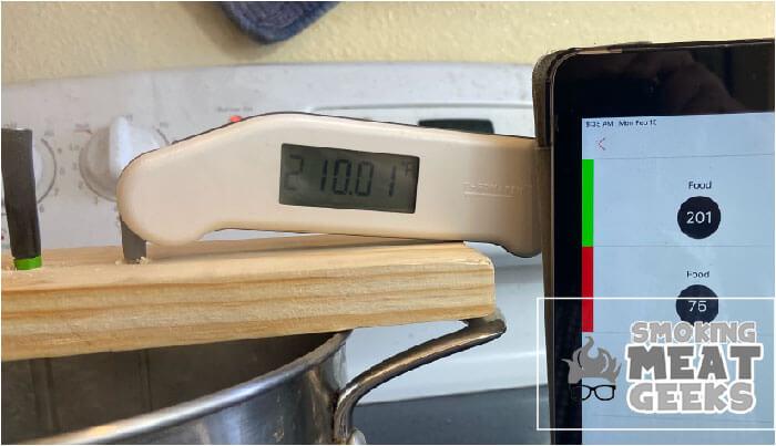 210 degrees testing