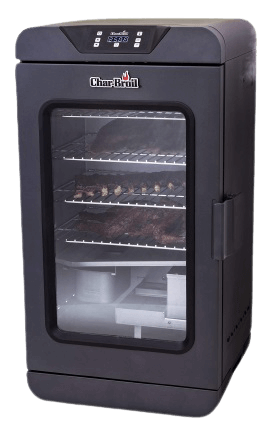 Char-Broil 19202101 Deluxe Black Digital Electric Smoker product image