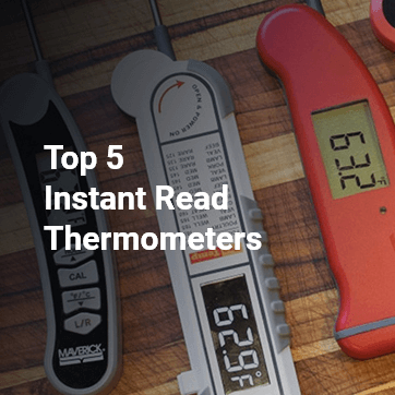 top 5 instant read thermometers