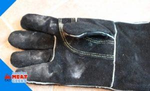 glove after hot coals