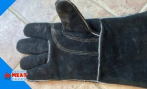 glove after cleaning