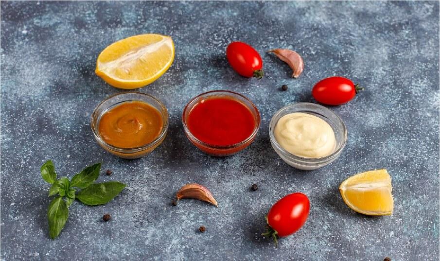 different BBQ sauces
