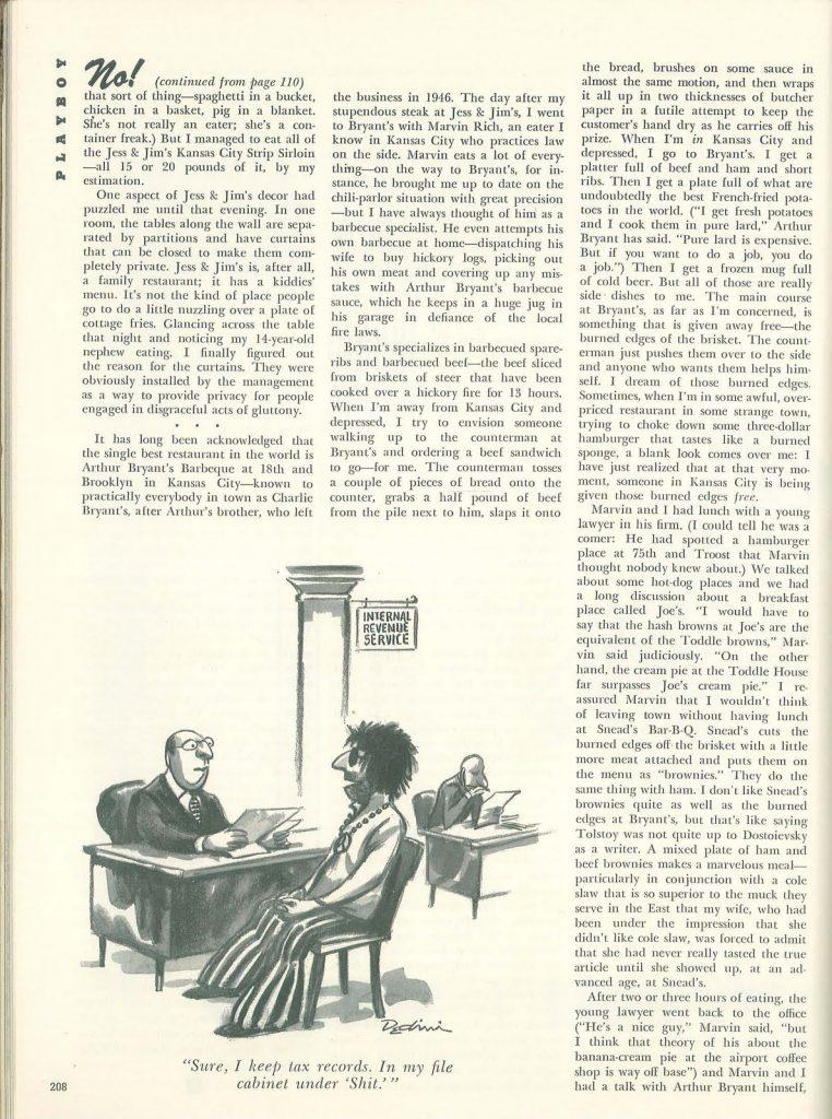 magazine article 1972