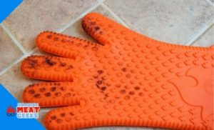 after burning glove