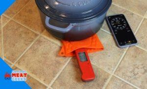 heat resistance test under dutch oven
