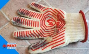dirty grill glove