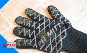 glove after burned
