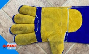 after washing the glove