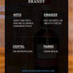 brandy alcohol infographic