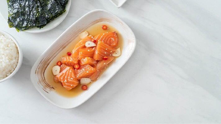 Brine for smoked salmon or other seafood recipe