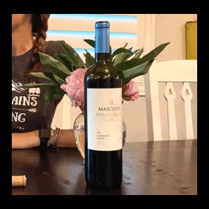 Cab Franc wine Bottle