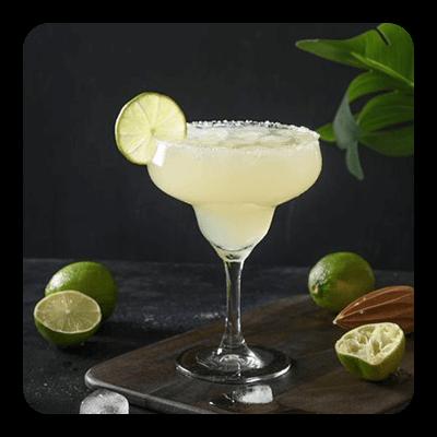 Cadillac Margarita in glass