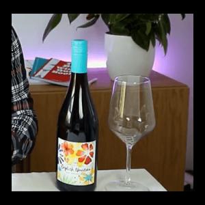 Pinot Noir bottle and glass